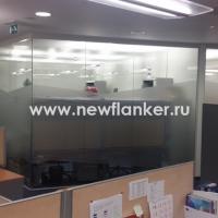 Матирование офисных перегородок