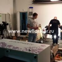 """Оформление студии для съемок передачи """"Бутик TV"""""""