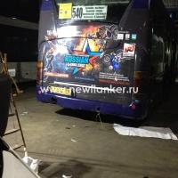 Оклейка автобусов и микроавтобусов