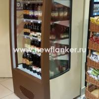 Оклейка холодильной витрины